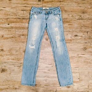 Make OFFER   Hollister Jeans Distressed Stretch